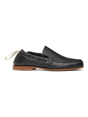 Loewe black elasticated loafers
