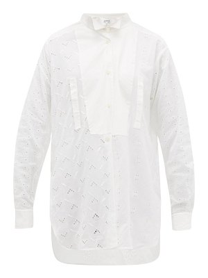 Loewe broderie anglaise cotton blouse