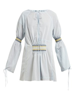 Loewe cinched cotton blouse