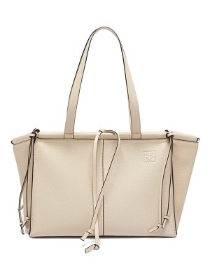 Loewe cushion small grained-leather tote