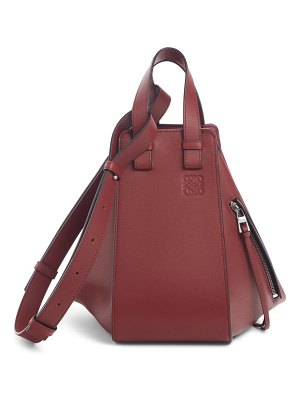 Loewe hammock small leather hobo
