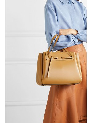 Loewe lazo large leather tote