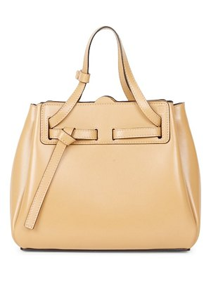 Loewe mini lazo leather tote