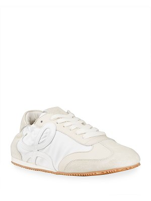 Loewe Mixed Leather Ballet Runner Sneakers