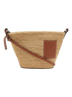 Loewe Paula's Ibiza pochette mini raffia cross-body bag