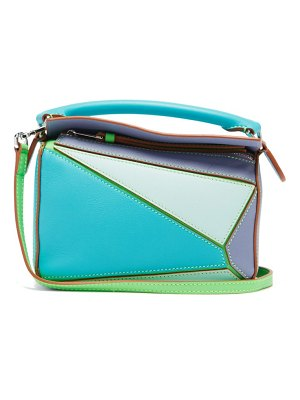 Loewe Paula's Ibiza puzzle mini leather cross-body bag