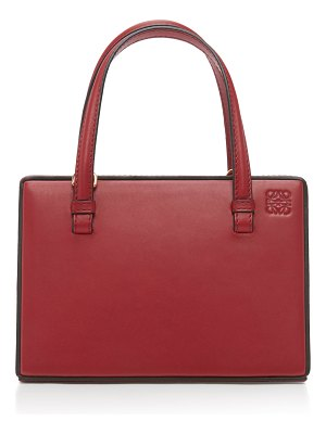 Loewe postal small leather tote