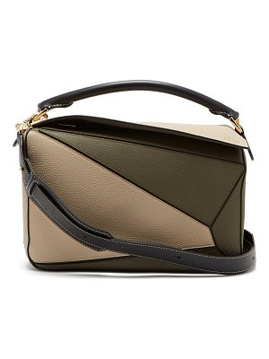 Loewe Puzzle grained-leather shoulder bag