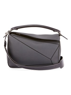 Loewe Puzzle Small Grained Leather Satchel Bag