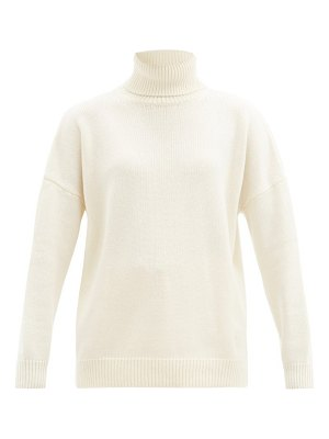 Loewe ribbed roll-neck cashmere sweater