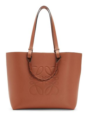 Loewe small anagram leather tote