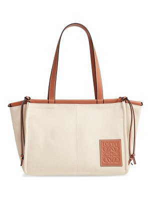 Loewe small cushion canvas tote