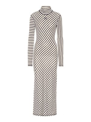 Loewe striped cotton maxi dress