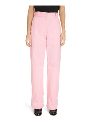 Loewe turn-up denim trousers