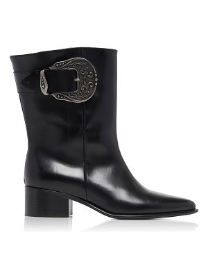 Loewe western leather ankle boots size: 35