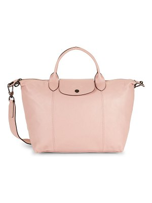 Longchamp Le Pliage Leather Shoulder Bag