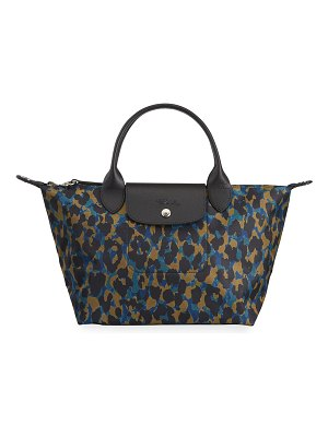 Longchamp Le Pliage Leopard-Print Small Shoulder Tote