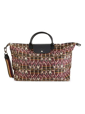Longchamp Le Pliage Neo Printed Top Handle Shoulder Bag
