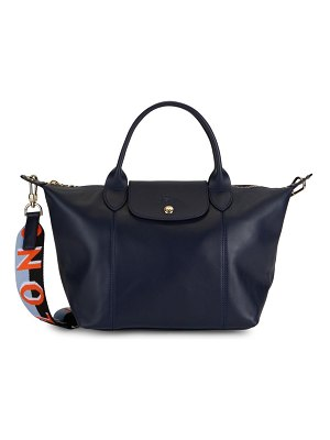 Longchamp Leather Convertible Shoulder Bag