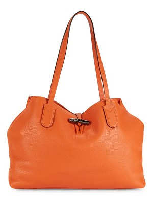Longchamp Pebbled Leather Shoulder Bag