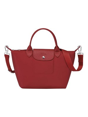 Longchamp small le pliage neo nylon top handle bag