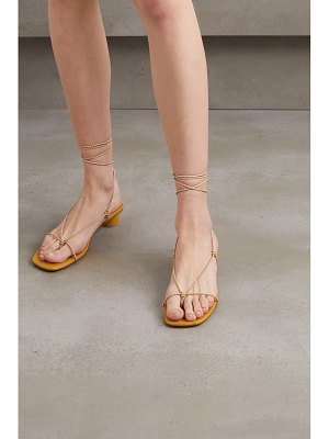 LOQ dora lace-up leather sandals