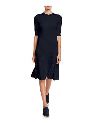Loro Piana Dahklia Ribbed Knit Dress