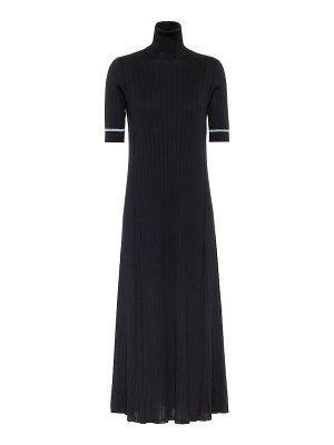 Loro Piana dakhla silk and cotton knit dress
