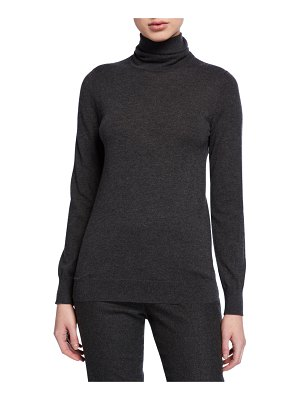 Loro Piana Featherweight Cashmere Turtleneck Sweater