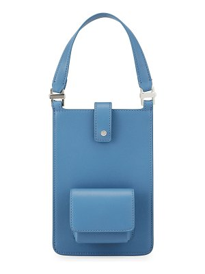 Loro Piana Forget Me Not Leather Crossbody Bag