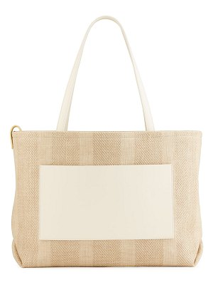Loro Piana Inside Out Bicolor Tote Bag