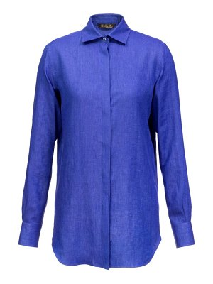 Loro Piana kara linen button-down shirt