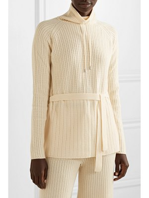 Loro Piana ribbed cashmere turtleneck sweater