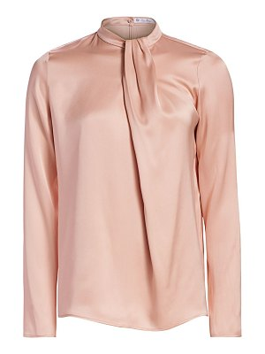 Loro Piana sally silk satin blouse