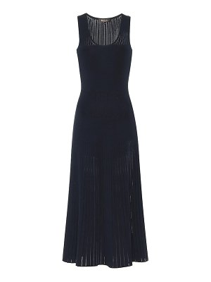 Loro Piana tangery silk and cotton midi dress