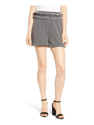 Lost Ink textured dot shorts