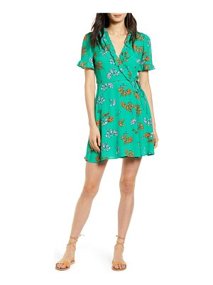 Lost + Wander get lucky floral minidress