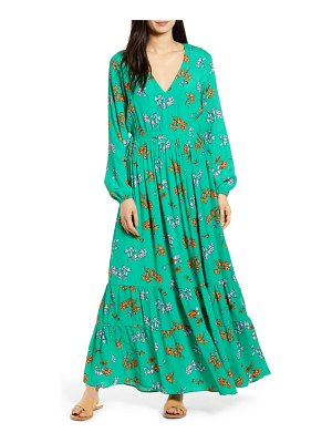 Lost + Wander get lucky long sleeve floral maxi dress