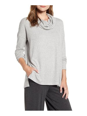 LOU & GREY brushed cowl neck top