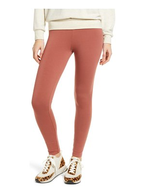 LOU & GREY essential high waist terry leggings