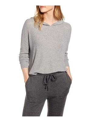 LOU & GREY ribbed hoodie sweater