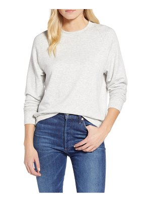 LOU & GREY signaturesoft plush sweatshirt