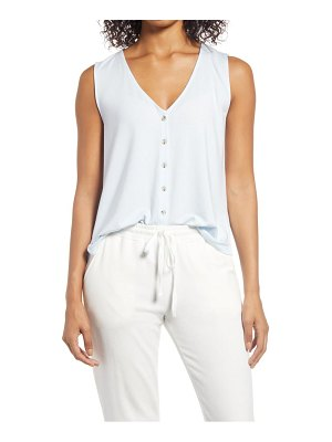 LOU & GREY sleeveless button-up top