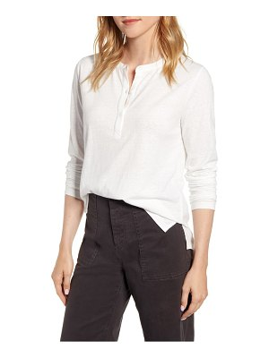 LOU & GREY softserve slub henley top