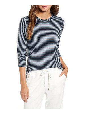 LOU & GREY striped softened jersey layering tee