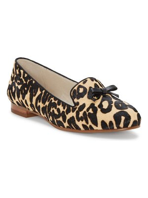 Louise et Cie anniston genuine calf hair flat