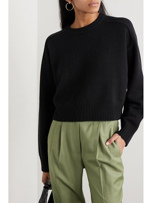 Loulou Studio bruzzi cropped wool and cashmere-blend sweater