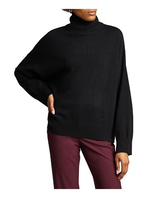 Loulou Studio Cashmere Drop-Shoulder Turtleneck Sweater