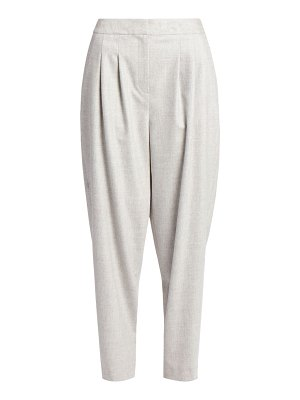 Loulou Studio farina pleat-front wool & cashmere stretch pants
