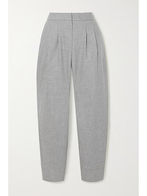 Loulou Studio farina pleated wool-blend tapered pants